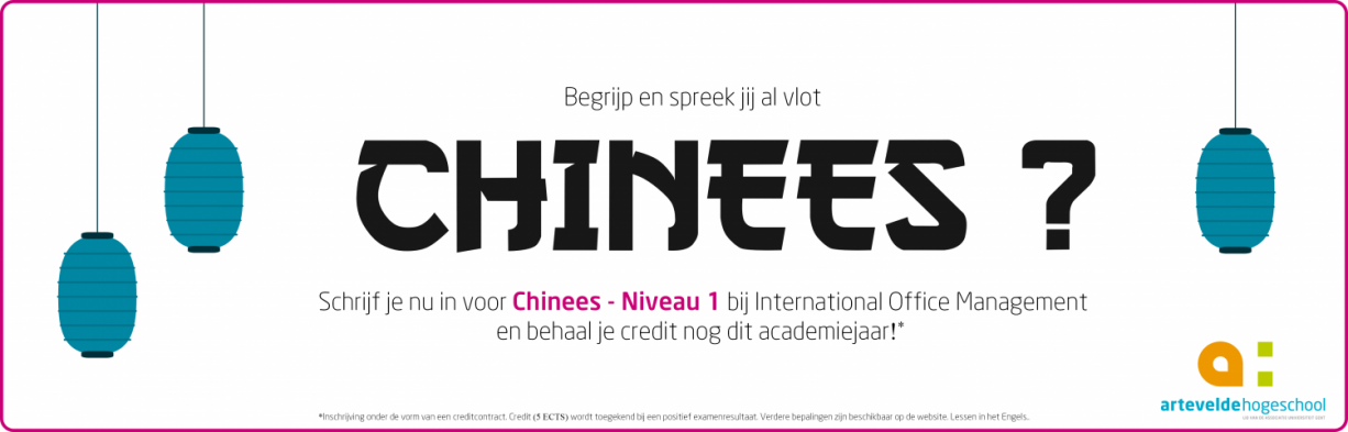 extra credit 'Chinees'