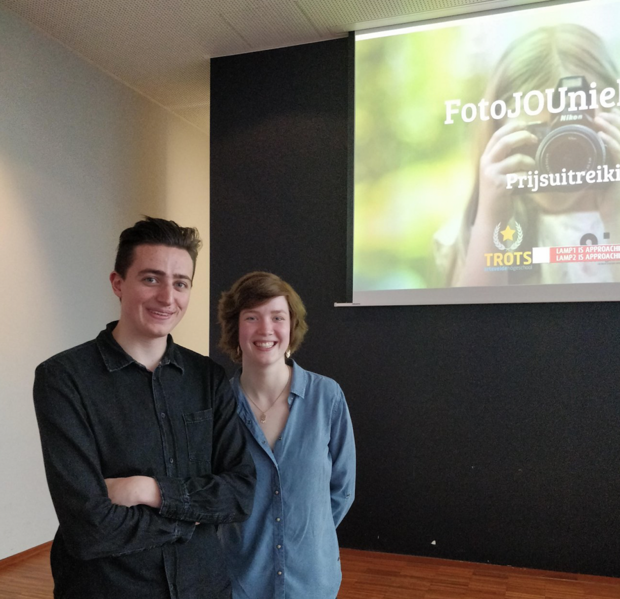 trots journalistiek foto expo